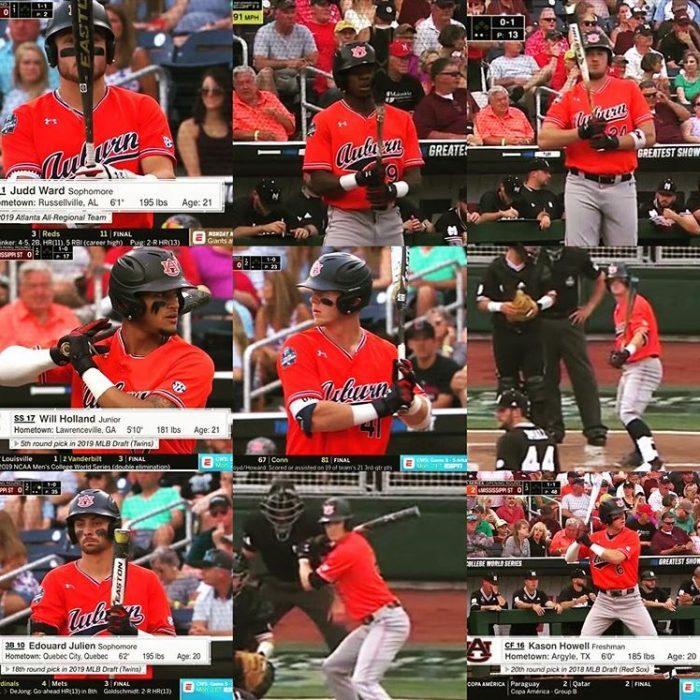 College World Series Baseball Bats
