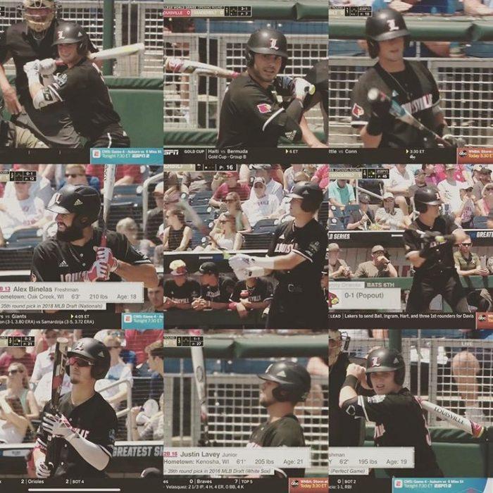 College World Series Bats