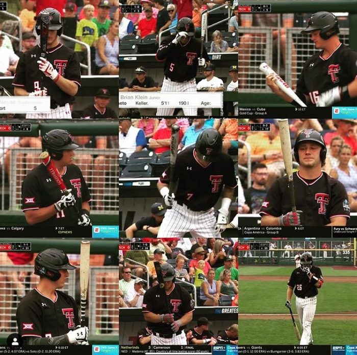 College World Series 2019 Bats