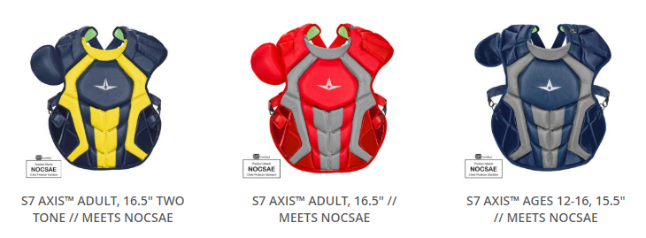 NOCSAE Catcher's Chest Protector